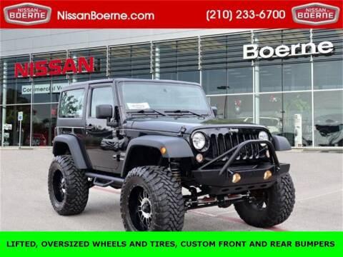 2014 Jeep Wrangler for sale at Nissan of Boerne in Boerne TX