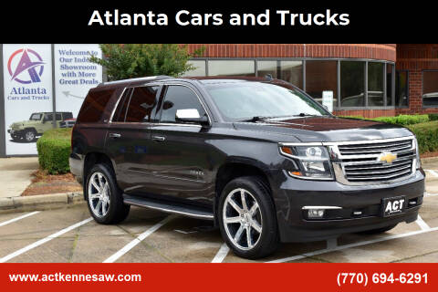 2015 Chevrolet Tahoe for sale at Atlanta Cars and Trucks in Kennesaw GA