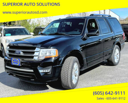 2017 Ford Expedition for sale at SUPERIOR AUTO SOLUTIONS in Spearfish SD