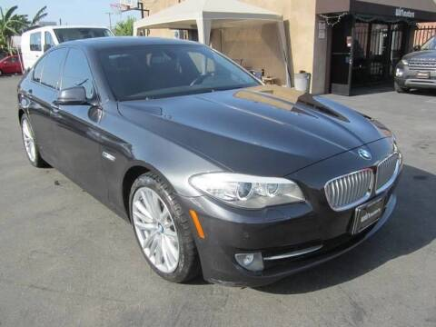 2012 BMW 5 Series for sale at Win Motors Inc. in Los Angeles CA