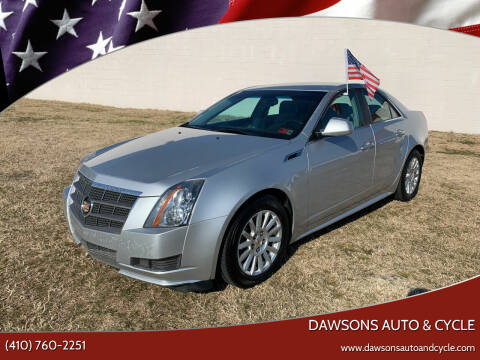 2011 Cadillac CTS for sale at Dawsons Auto & Cycle in Glen Burnie MD