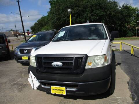 2007 Ford F-150 for sale at Metroplex Motors Inc. in Houston TX