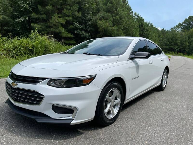 2017 Chevrolet Malibu for sale at Carrera AutoHaus Inc in Clayton NC