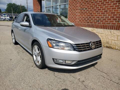 2012 Volkswagen Passat for sale at Boardman Auto Exchange in Youngstown OH