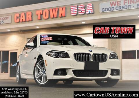 2016 BMW 5 Series for sale at Car Town USA in Attleboro MA