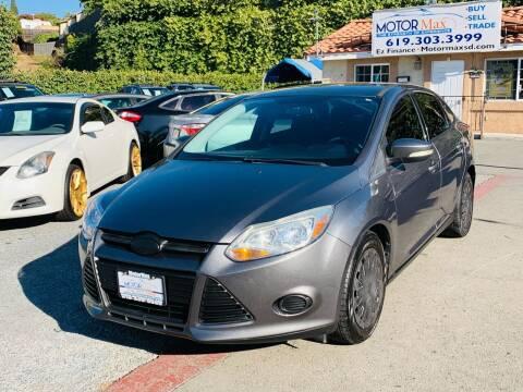 2013 Ford Focus for sale at MotorMax in Lemon Grove CA