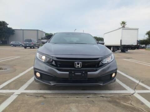 2020 Honda Civic for sale at MOTORS OF TEXAS in Houston TX