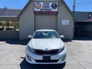 2015 Kia Optima for sale at Utah Credit Approval Auto Sales in Murray UT
