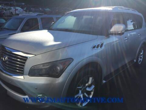 2014 Infiniti QX80 for sale at J & M Automotive in Naugatuck CT