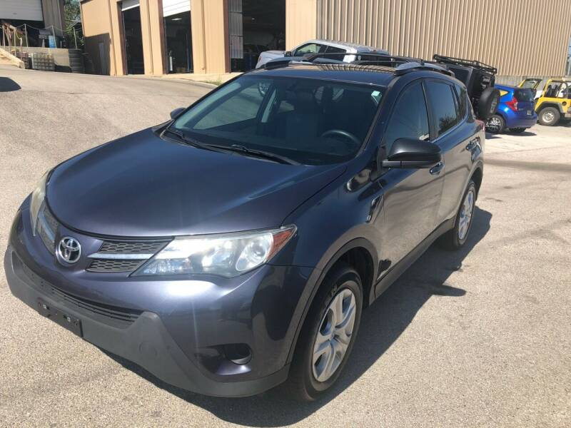 2014 Toyota RAV4 for sale at Central Automotive in Kerrville TX