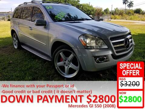 2008 Mercedes-Benz GL-Class for sale at AUTO COLLECTION OF SOUTH MIAMI in Miami FL