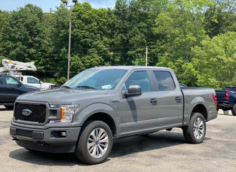 2018 Ford F-150 for sale at Griffith Auto Sales in Home PA
