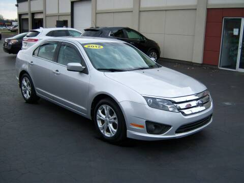 2012 Ford Fusion for sale at Blatners Auto Inc in North Tonawanda NY