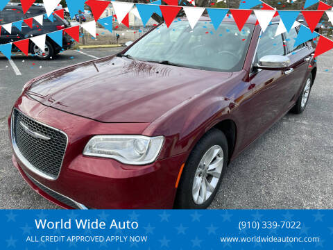2016 Chrysler 300 for sale at World Wide Auto in Fayetteville NC