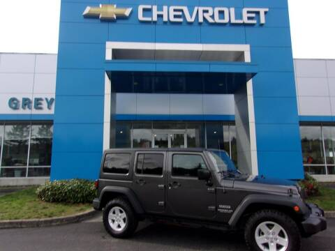 2017 Jeep Wrangler Unlimited for sale at Grey Chevrolet, Inc. in Port Orchard WA