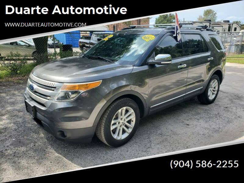 2015 Ford Explorer for sale at Duarte Automotive in Jacksonville FL