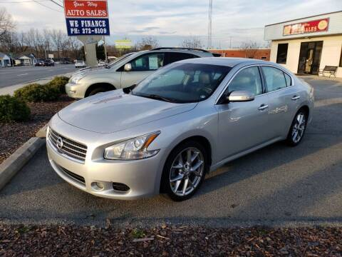 2010 Nissan Maxima for sale at YOUR WAY AUTO SALES INC in Greensboro NC
