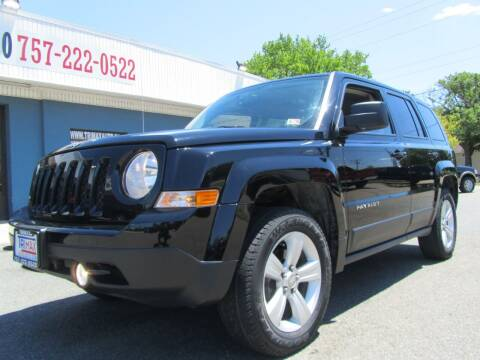 2015 Jeep Patriot for sale at Trimax Auto Group in Norfolk VA