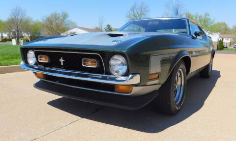 1971 Ford Mustang for sale at WEST PORT AUTO CENTER INC in Fenton MO