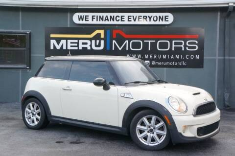 2012 MINI Cooper Hardtop for sale at Meru Motors in Hollywood FL
