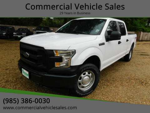 2017 Ford F-150 for sale at Commercial Vehicle Sales in Ponchatoula LA