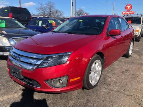 2011 Ford Fusion for sale at RJ AUTO SALES in Detroit MI