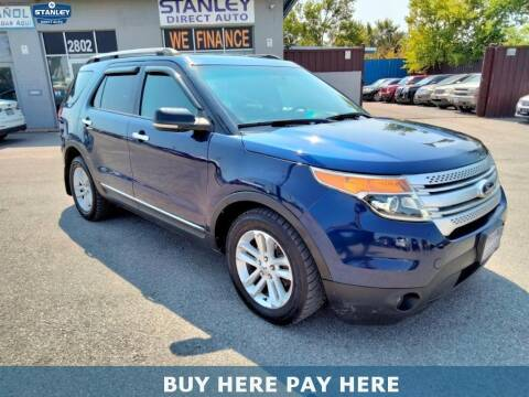 2012 Ford Explorer for sale at Stanley Direct Auto in Mesquite TX