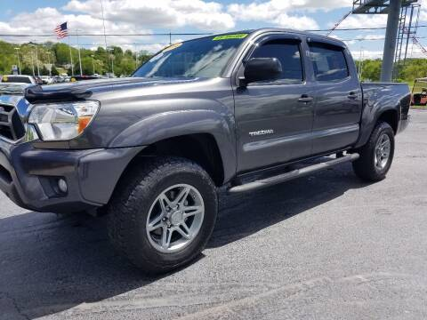 2014 Toyota Tacoma for sale at Moores Auto Sales in Greeneville TN