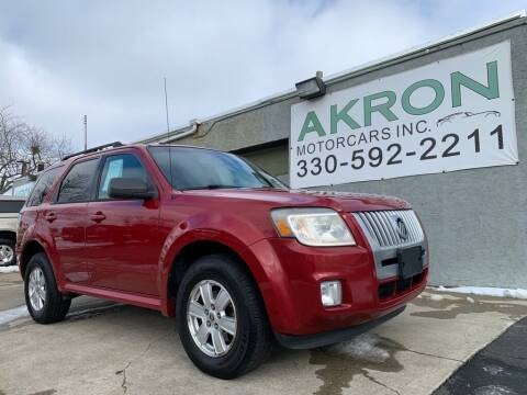 2010 Mercury Mariner for sale at Akron Motorcars Inc. in Akron OH