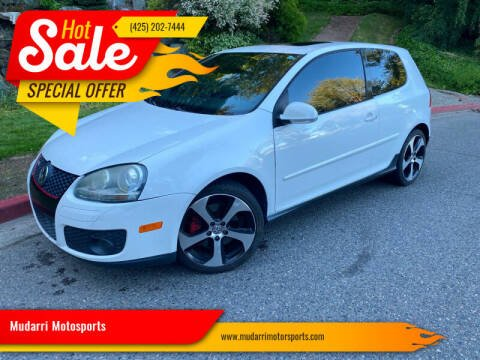 2007 Volkswagen GTI for sale at Mudarri Motorsports in Kirkland WA