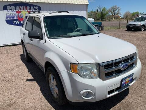 2011 Ford Escape for sale at Praylea's Auto Sales in Peyton CO