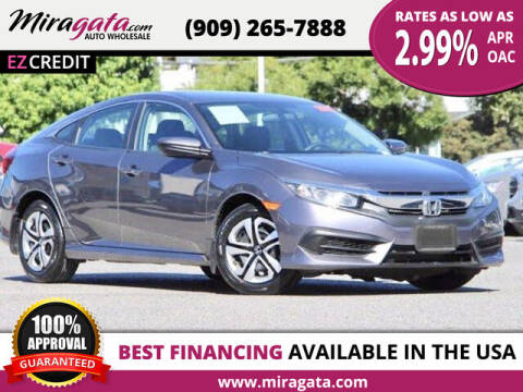 2016 Honda Civic for sale at Miragata Auto in Bloomington CA