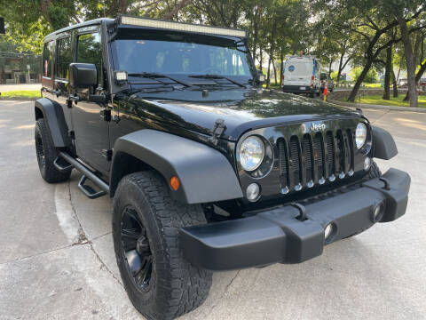 2016 Jeep Wrangler Unlimited for sale at PRESTIGE AUTOPLEX LLC in Austin TX