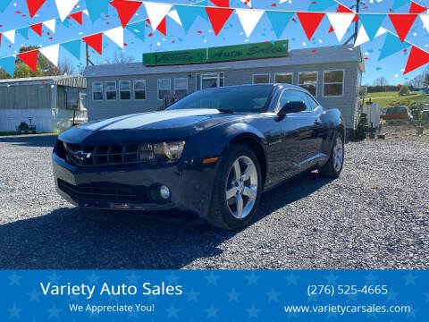 2010 Chevrolet Camaro for sale at Variety Auto Sales in Abingdon VA