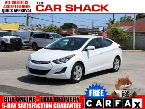 2015 Hyundai Elantra for sale at The Car Shack in Hialeah FL