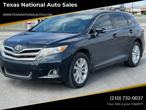 2014 Toyota Venza for sale at Texas National Auto Sales in San Antonio TX