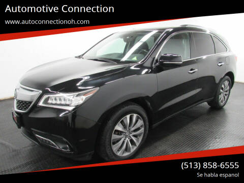2015 Acura MDX for sale at Automotive Connection in Fairfield OH