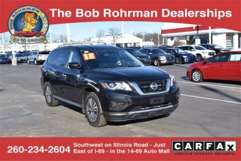 2018 Nissan Pathfinder for sale at BOB ROHRMAN FORT WAYNE TOYOTA in Fort Wayne IN