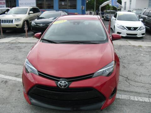 2018 Toyota Corolla for sale at SUPERAUTO AUTO SALES INC in Hialeah FL