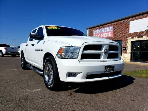 2012 RAM Ram Pickup 1500 for sale at AUTO BARGAIN, INC. #2 in Oklahoma City OK