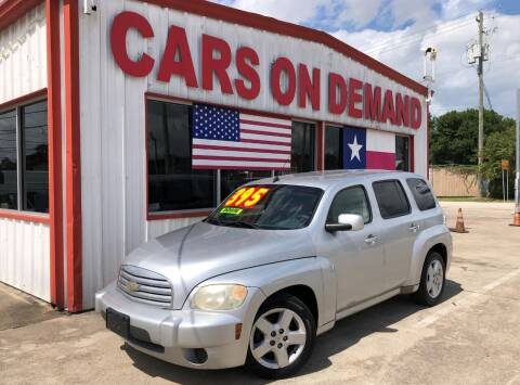 2011 Chevrolet HHR for sale at Cars On Demand 3 in Pasadena TX