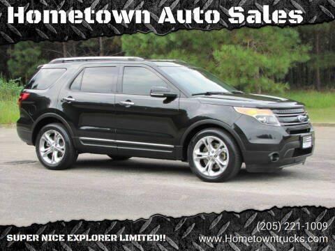 2013 Ford Explorer for sale at Hometown Auto Sales - SUVS in Jasper AL