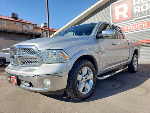 2015 RAM Ram Pickup 1500 for sale at Red Rock Auto Sales in Saint George UT