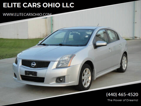 2010 Nissan Sentra for sale at ELITE CARS OHIO LLC in Solon OH