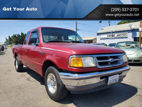 1996 Ford Ranger for sale at Get Your Auto in Ceres CA