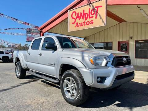 2013 Toyota Tacoma for sale at Sandlot Autos in Tyler TX
