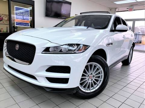 2017 Jaguar F-PACE for sale at SAINT CHARLES MOTORCARS in Saint Charles IL