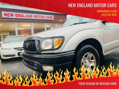 2004 Toyota Tacoma for sale at New England Motor Cars in Springfield MA