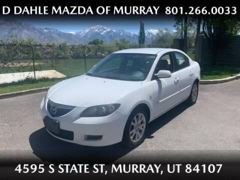 2008 Mazda MAZDA3 for sale at D DAHLE MAZDA OF MURRAY in Salt Lake City UT