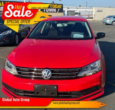 2015 Volkswagen Jetta for sale at Global Auto Group in Fontana CA